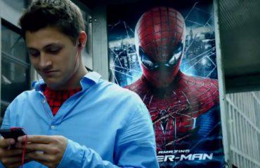 تیزر تبلیغاتی سونی Xperia با استفاده از کاراکتر spider man