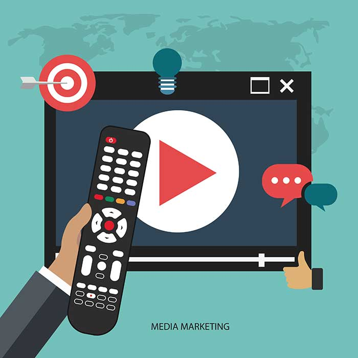 ویدئوی کوتاه برای ایجاد فروش